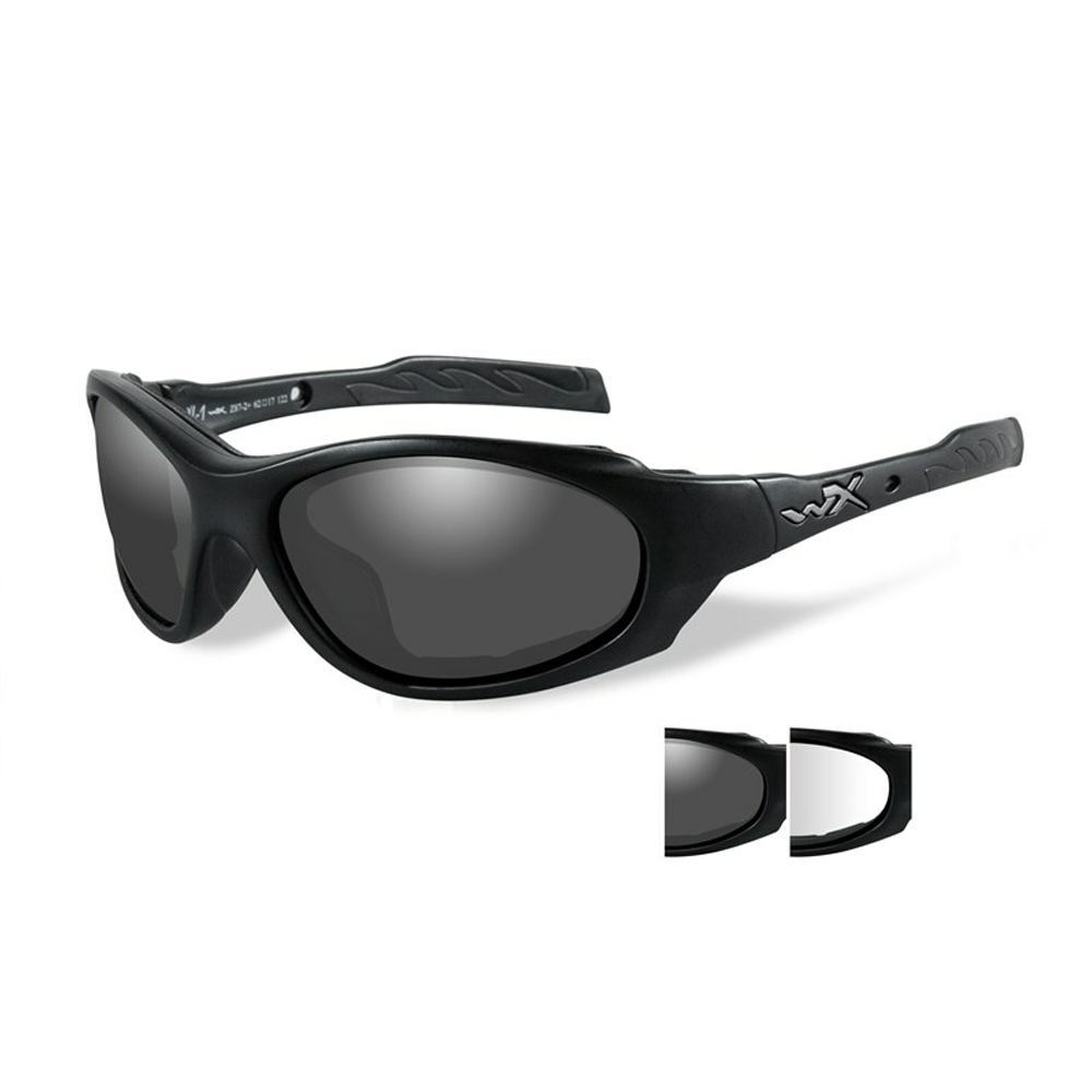 XL-1 AD Smoke/Clear Matte Black Frame - Bellmt