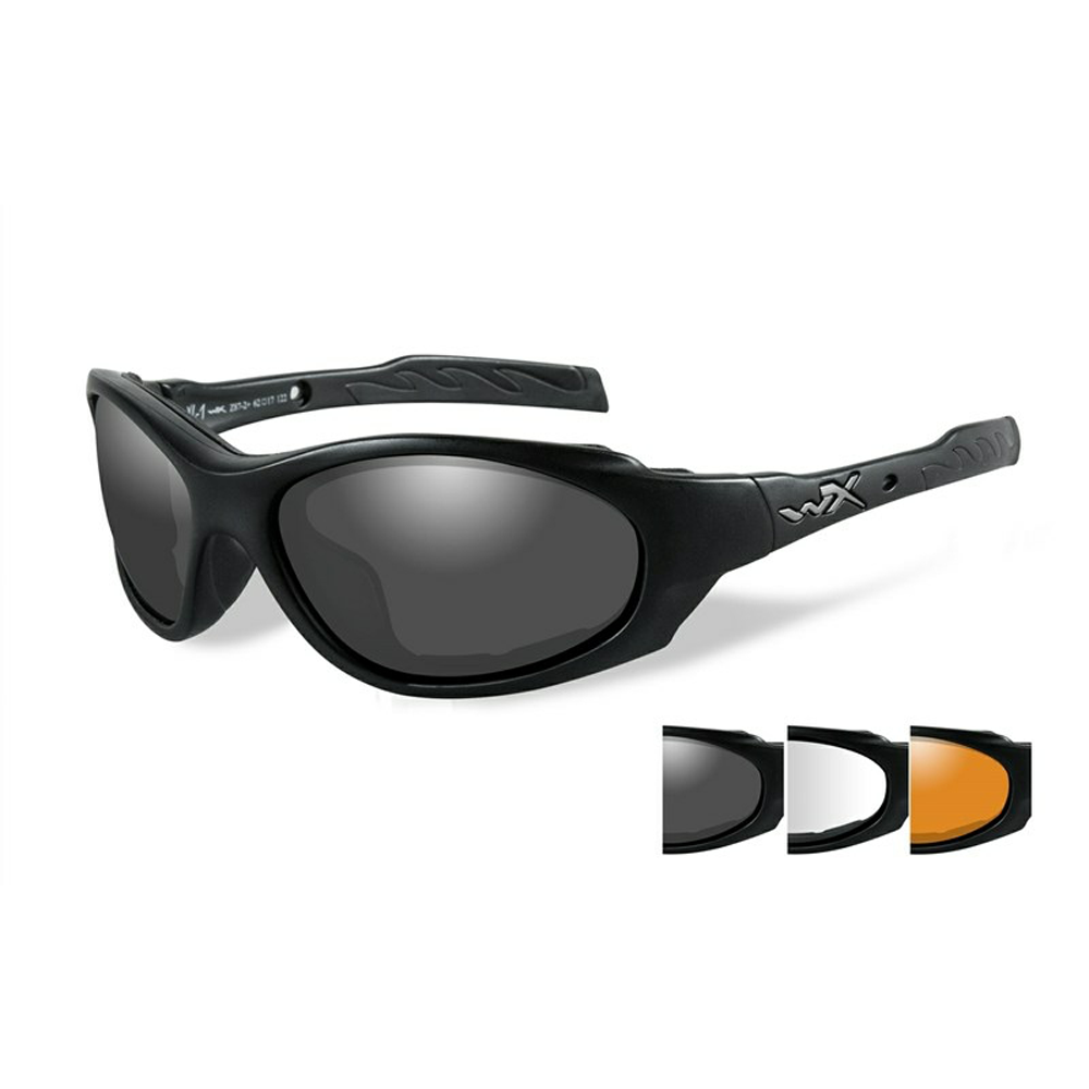 XL-1 AD Smoke/Clear/Light Rust Matte Black Frame - Bellmt