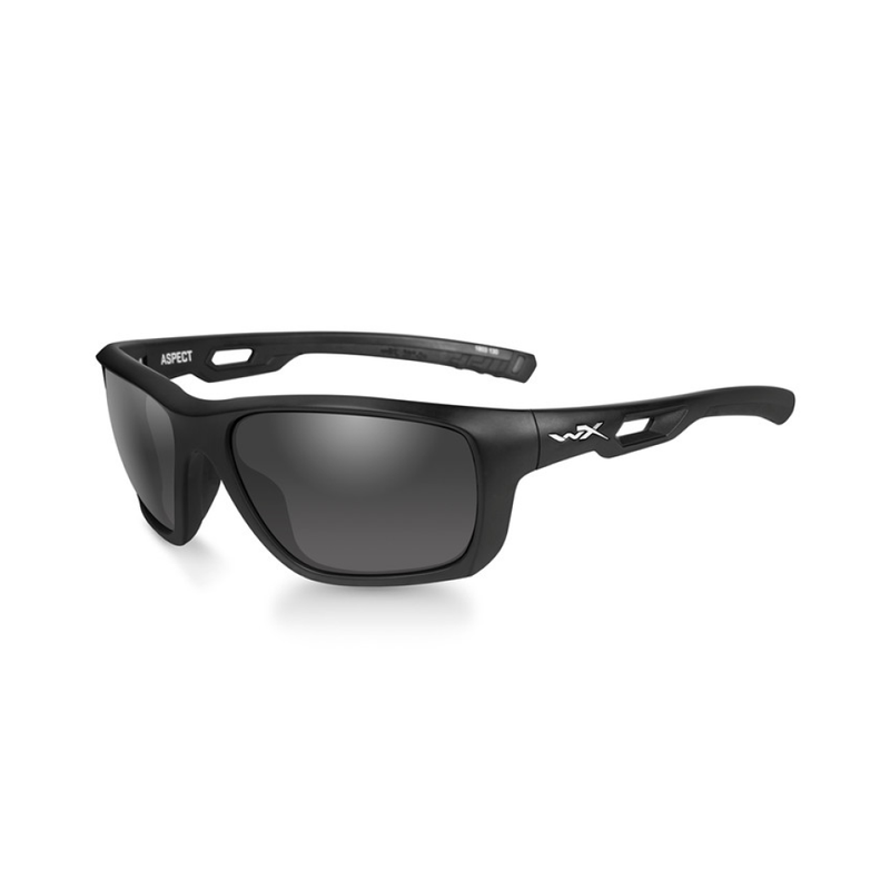 WX Aspect Smoke Grey Matte Black Frame - Bellmt