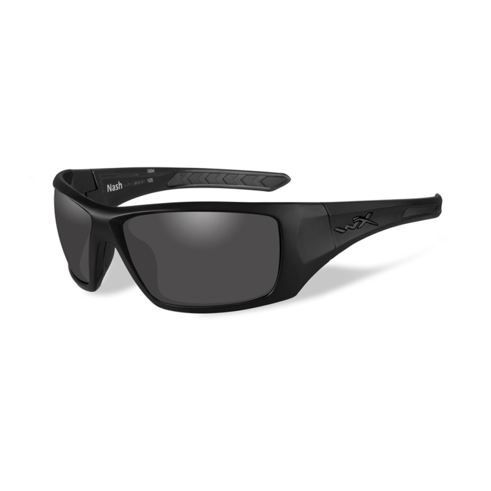 NASH Polarized Smoke Grey Matte Black Frame - Bellmt