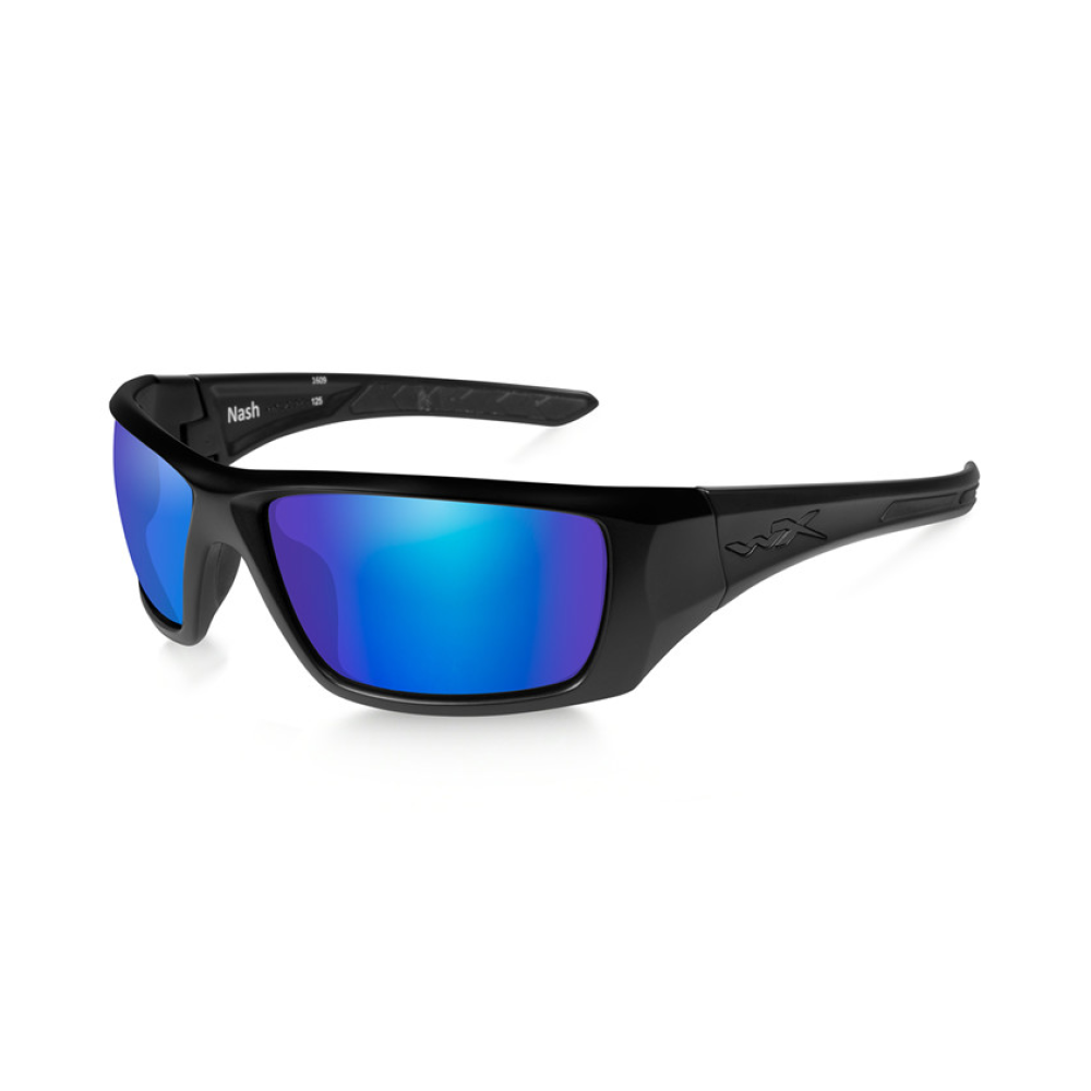 NASH Polarized Blue Mirror Matte Black Frame - Bellmt