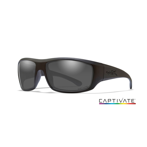 OMEGA Captivate Smoke Grey Matte Black Frame - Bellmt