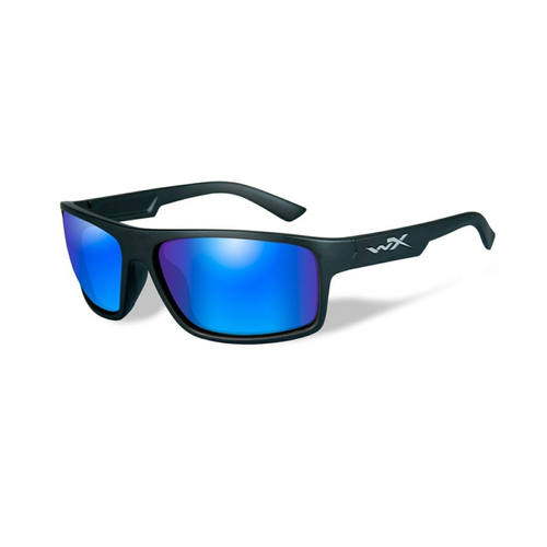 PEAK Polarized Blue Mirror Matte Black Frame - Bellmt