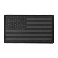 American Flag Left Arm Patch - Bellmt