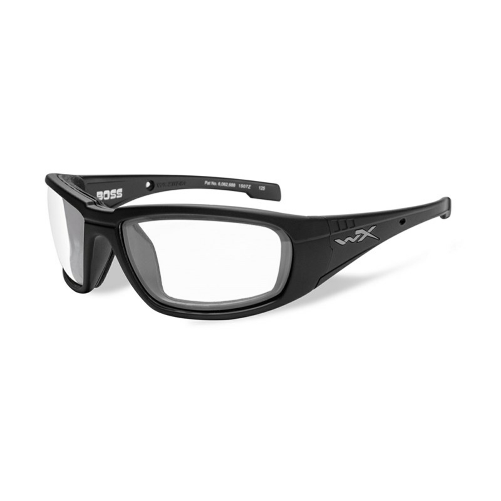BOSS Clear Matte Black Frame - Bellmt