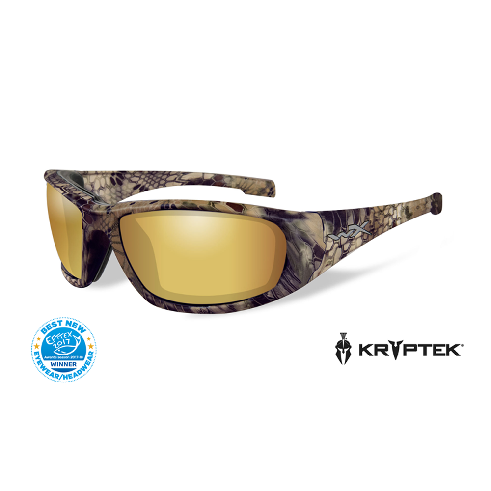 WX BOSS Pol Amber Gold Mirror Kryptek® Highlander® Frame - Bellmt