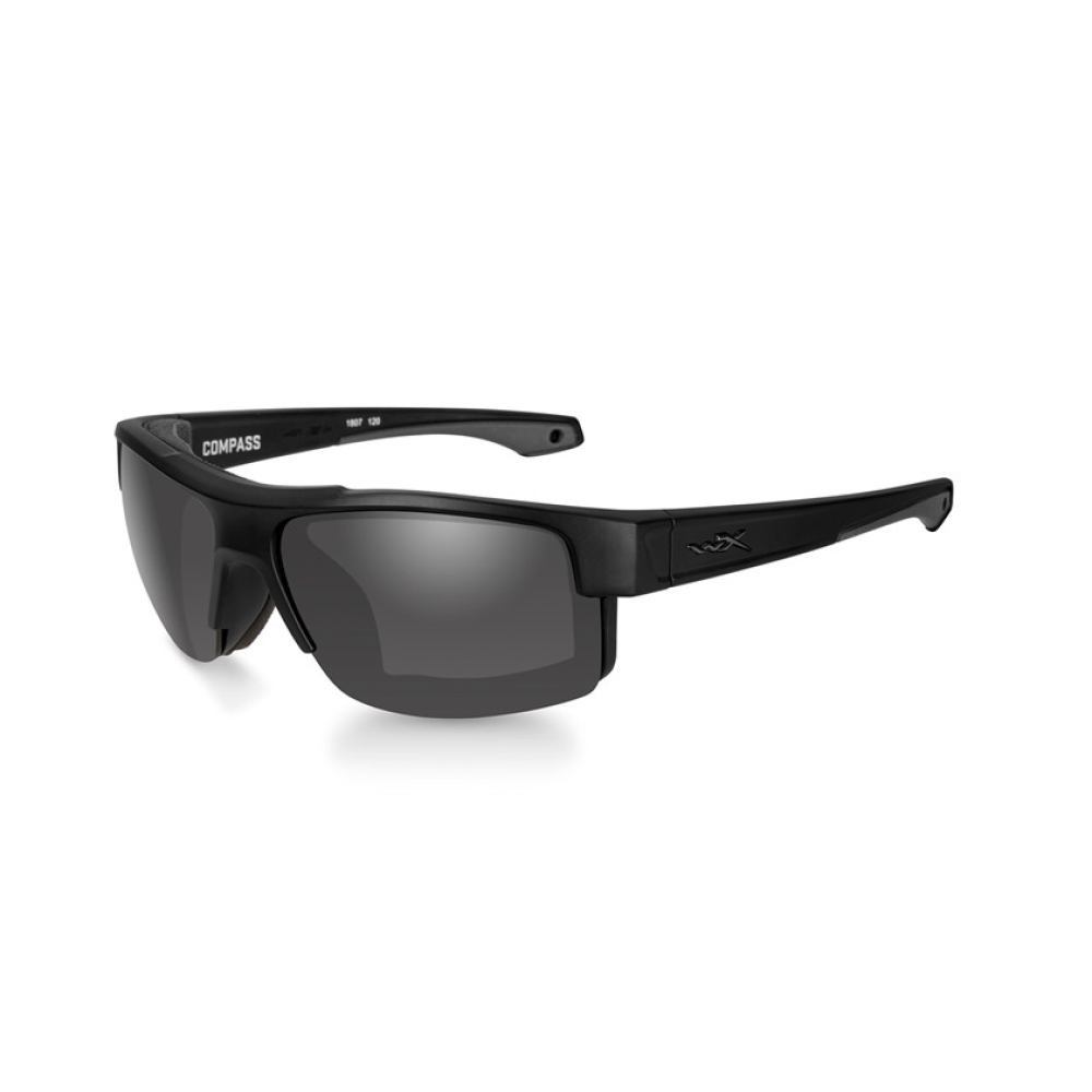 COMPASS Smoke Grey Matte Black Frame - Bellmt