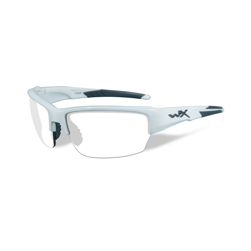 SAINT Clear Lens Gloss White Frame - Bellmt