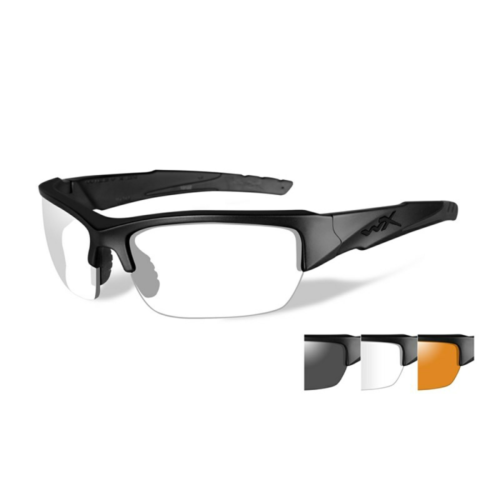 VALOR Clear/Grey/Light Rust Matte Black Frame - Bellmt