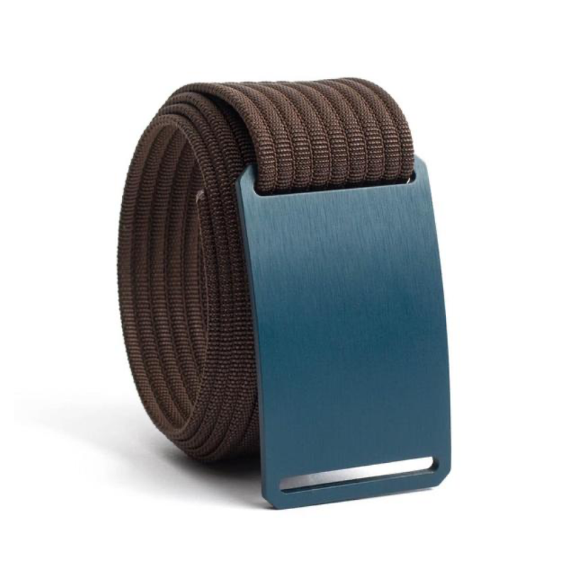 Aggie Standard Belt with 1.50 Mocha Strap - Bellmt
