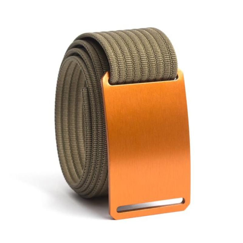 Foxtail Standard Belt with 1.50 Khaki Strap - Bellmt