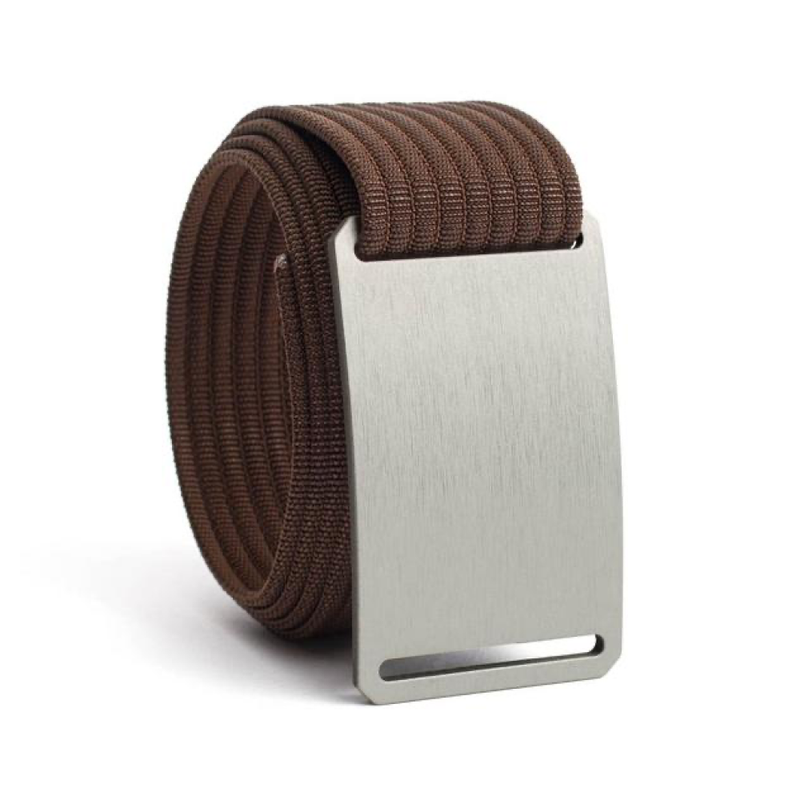 Granite Narrow Belt with 1.10 Mocha Strap - Bellmt