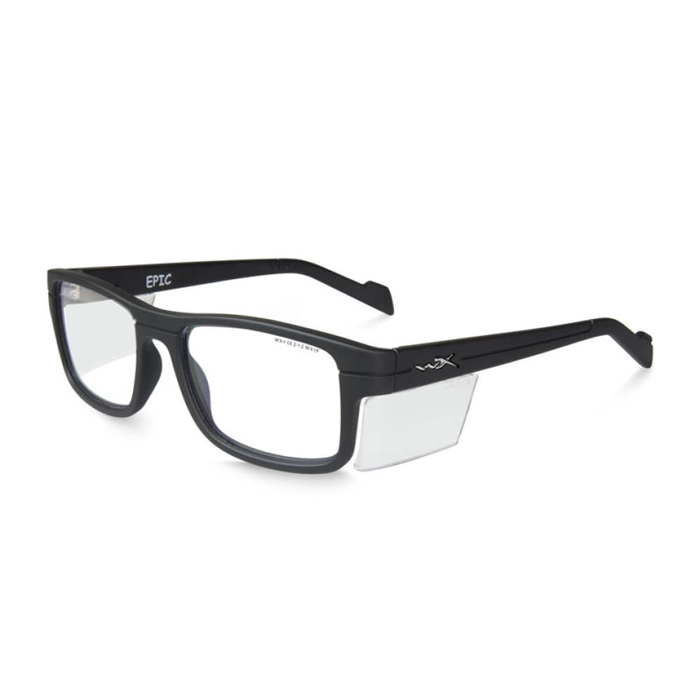 WX Epic Clear Matte Black Frame - Bellmt