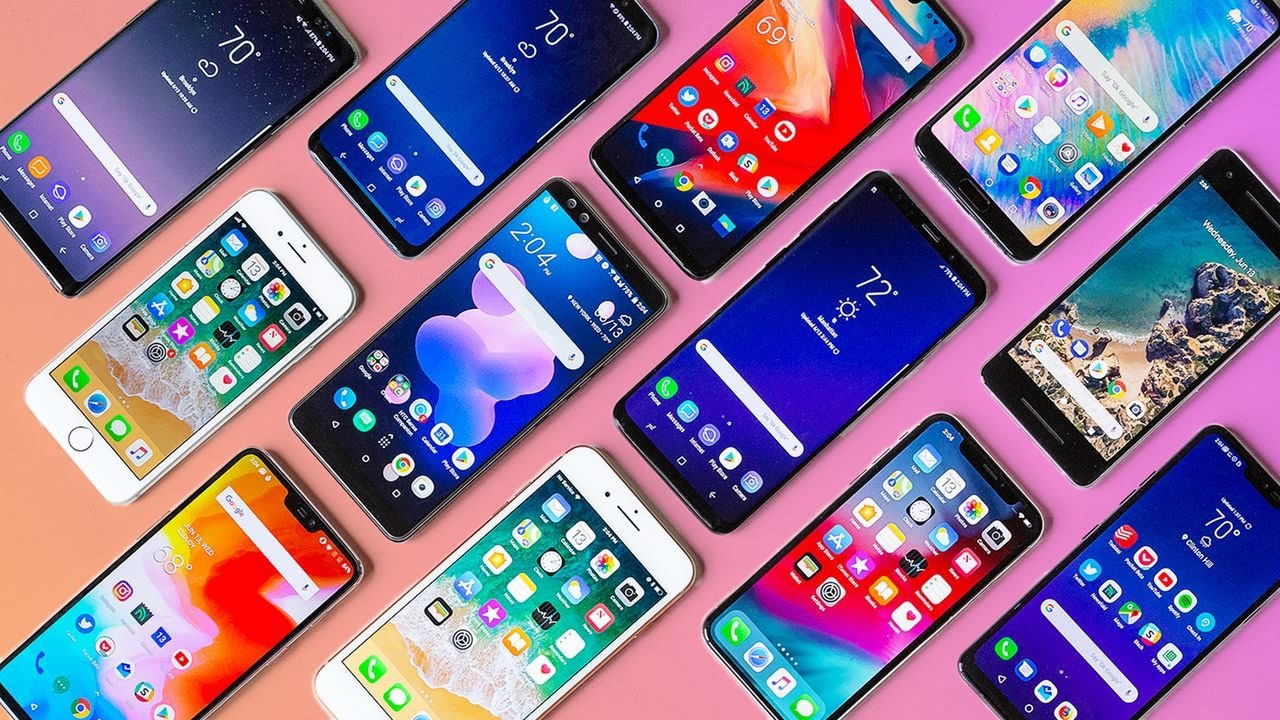 Picture of phones