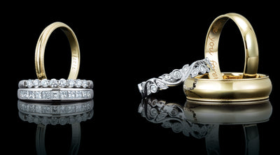 Different Types of Diamond Wedding Rings