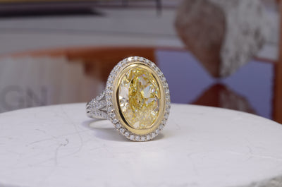 Yellow Diamond Engagement Rings Are A Hot Trend - Find Out Why!
