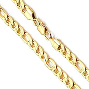 14K Yellow Gold Figaro Chain 11mm