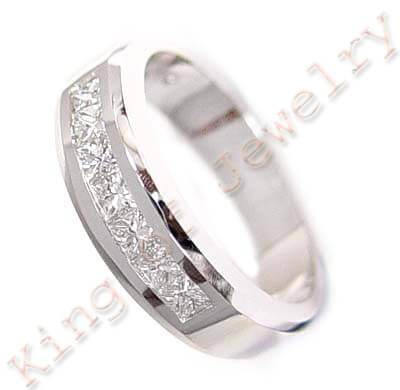1.25 Ct. Lady's Diamond Wedding Ring Channel Set