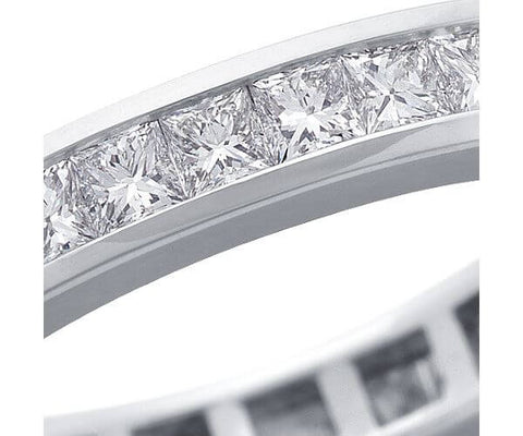2.00 Ct. Princess Cut Diamond Eternity Ring