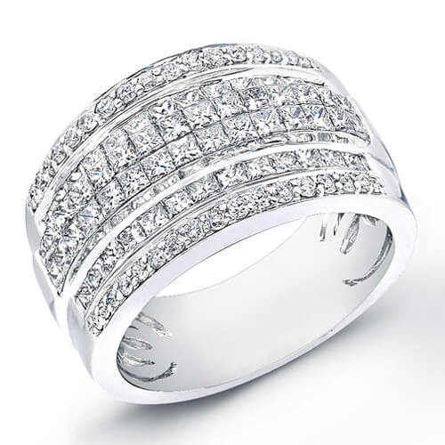 2.18 Ct.  Lady's Diamond Wedding Ring