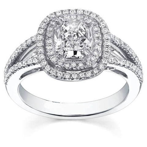 2.53 Ct. Cushion Cut Diamond Engagement Ring F, VS1 (GIA Certified)