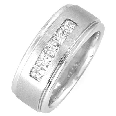 1.25 Ct. Channel Set Men's Diamond Ring