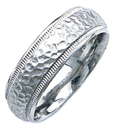 Hand Made Wedding Ring for Men & Women