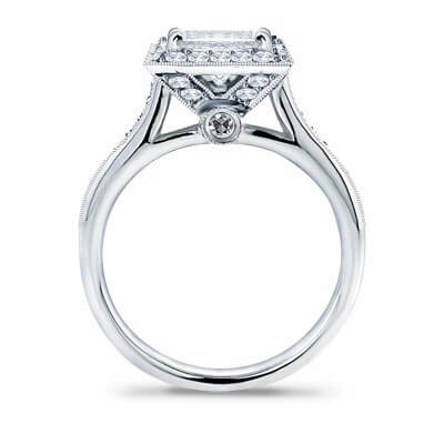 2.31 Ct. Princess Cut Diamond Engagement Ring G, VS1 (GIA Certified)