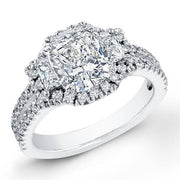 2.34 Ct. Cushion Cut Diamond Engagement Ring F, SI1 (GIA Certified)