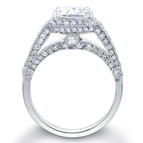 3.34 Ct. Cushion Cut Diamond Engagement Ring G, VS2 (GIA Certified)