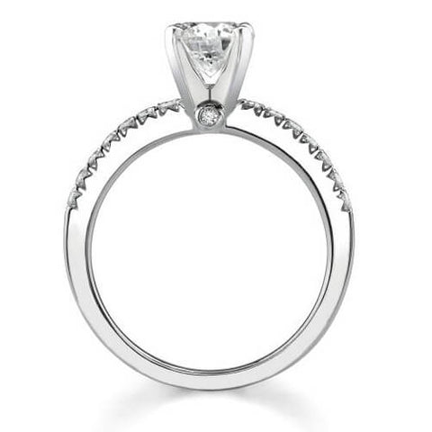 1.56 Ct. Asscher Cut Diamond Engagement Set (GIA certified)