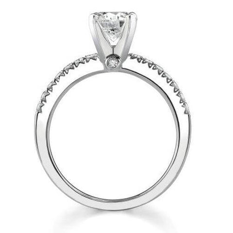 2.70 Ct. Asscher Cut Diamond Engagement Set (GIA certified)