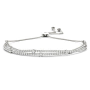 2.20 Ct Bolo Diamond Bracelet Natural Earth Mined Diamonds