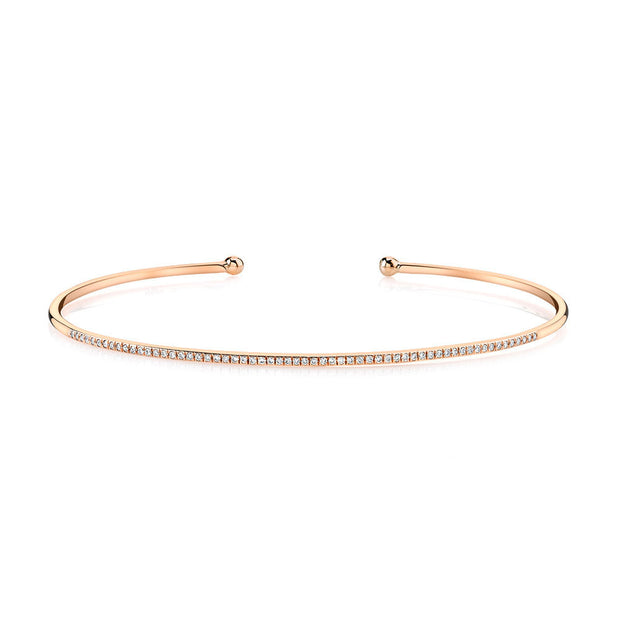 LEDODI Be Brave Bangle Cuff Bracelet