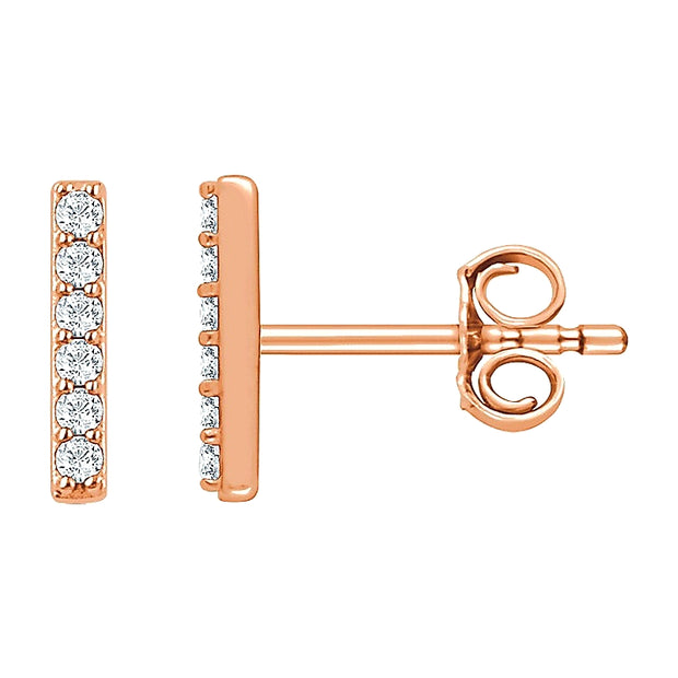 LEDODI Diamond Bar Earrings