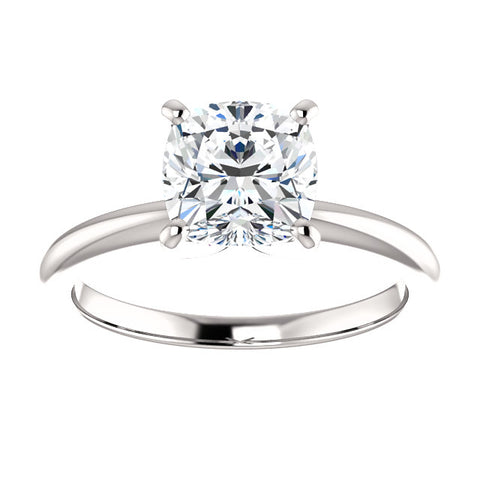 2.00 Ct. Cushion Cut Diamond Classic Solitaire Ring H Color VS2 GIA Certified