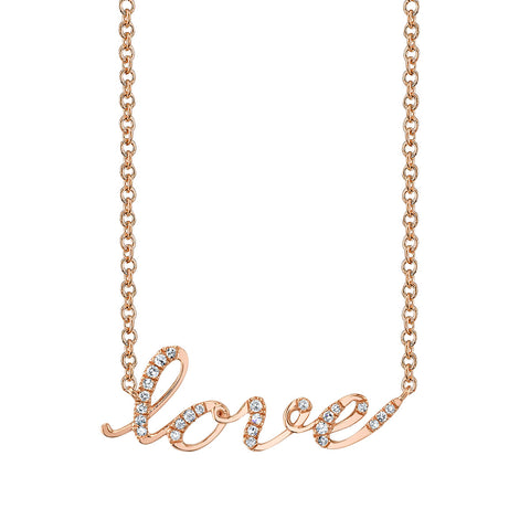 LEDODI LOVE Diamond Necklace