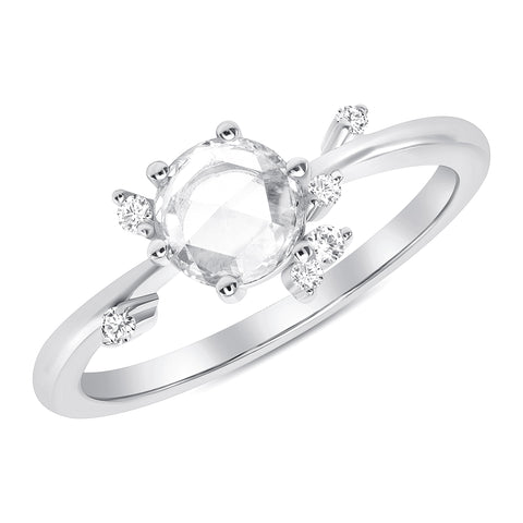 Meadow Diamond Cluster Ring