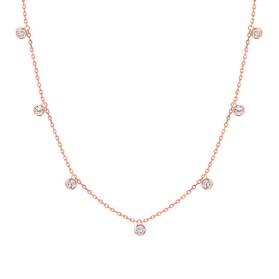 LEDODI Mimosa Diamond Necklace
