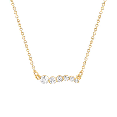 Up-Up Away Diamond Necklace