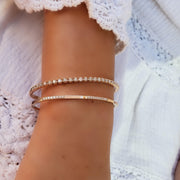 Stackable Blissful Diamond Bangle