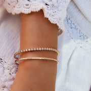 Cutie Cuff Diamond Bangle