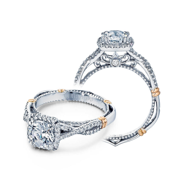 Verragio Parisian Collection 0.30 ct. Round Brilliant Cut Diamond Engagement Ring Setting