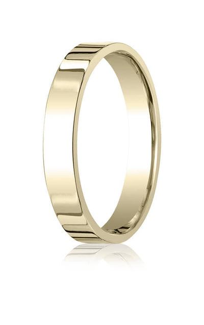 14k Yellow Gold 4.0mm Flat Comfort-Fit Ring - CF24014ky