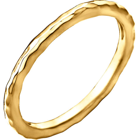 Jagged Edges Ring 14k Solid Gold