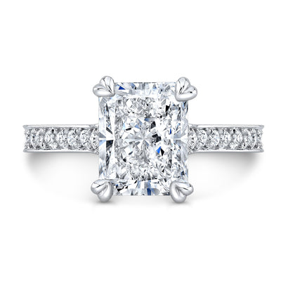 Bellagio Radiant Cut Diamond Engagement Ring