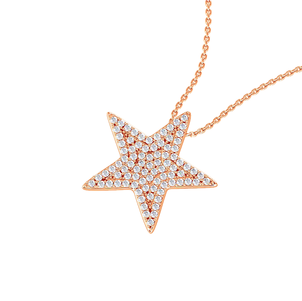 LEDODI Star Diamond Necklace