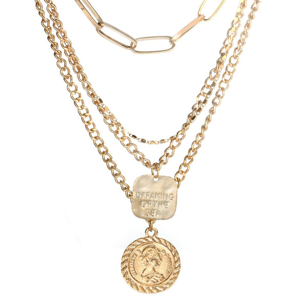 Boho Gold Layered Necklaces - ALFSIXTYONE