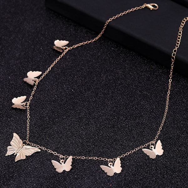 HOT Sale Gold / silver Butterfly Necklaces - ALFSIXTYONE