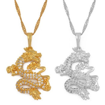 Dragon Pendant Necklaces for Women - ALFSIXTYONE